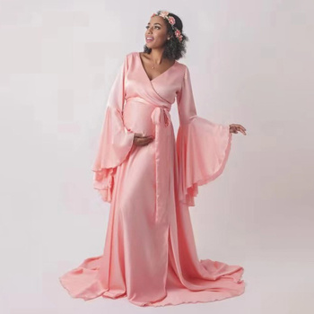 Pregnancy Dress Photography Props Dresses For Photo Shoot Maxi Gown Dresses Maternity Clothes For Pregnant Women Open Clothes maternity dresses for photo shoot maternity photography props pregnancy dress photography maxi dresses gown pregnant clothes