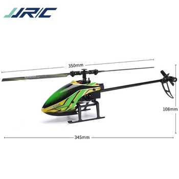 JJRC M05 RC Helicopter 2.4GHz 4 Channel 6-Axis Gyro Stabilizer Altitude Hold Helicopter for Indoor to Fly for Kids and Beginners 6