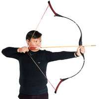 toparchery 30-50Ibs Embroidered Silk Archery Bow for Hunting Bow Recurve Bow Outdoor Shooting Traditional Bow