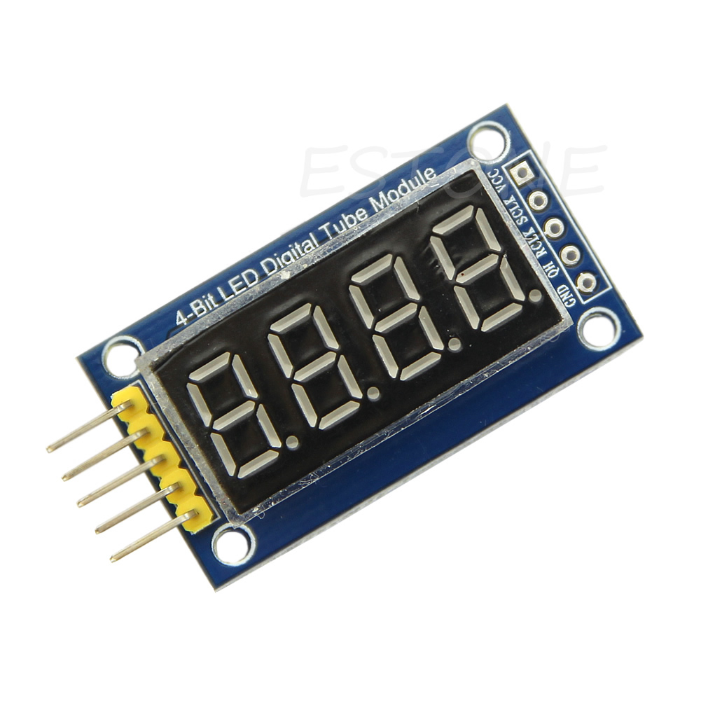 TM1637 LED Display Module 4 Bits Digital Tube With Clock Display For Arduino PXPE