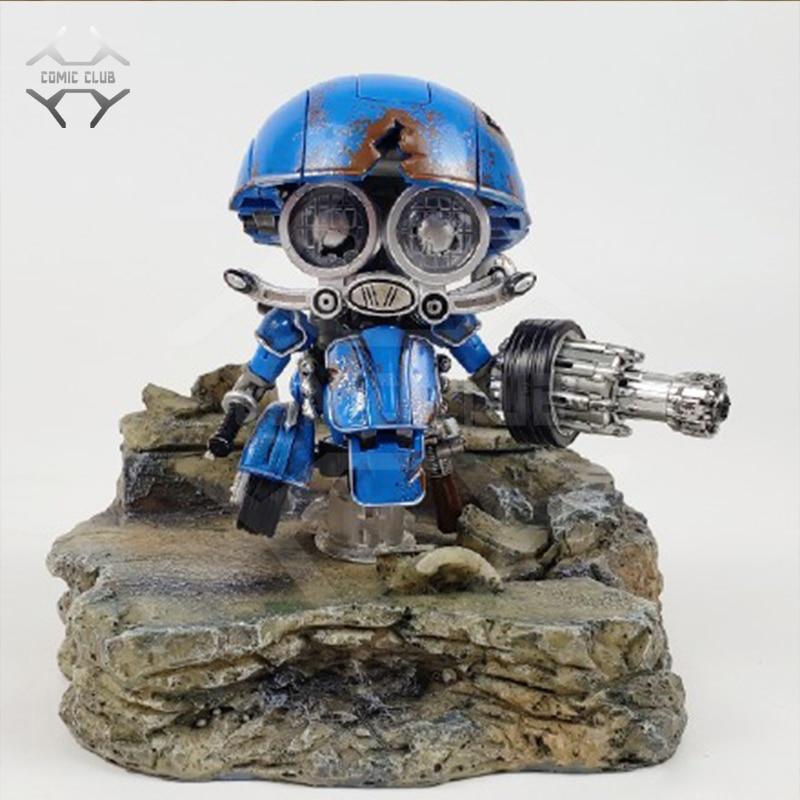 Image 5 - COMIC CLUB weijiang battle damage Q Ver AUTOBOT SQWEEKS metal alloy parts Action Figure robot toyAction & Toy Figures   -
