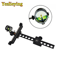 Universal Upgrade Combo Archery Compound bow sight For Hunting Archery Compound Bow Long Pole   Aiming Targeting