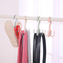 15*7cm s hook plastic s hooks 4claws cap Slippers clothes scarf belt hat wardrobe hook 4pcs/lot free shipping