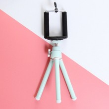 Two Section Camera Phone Holder Table Tripod Telescopic Desktop Photography Small Digital SLR Bracket
