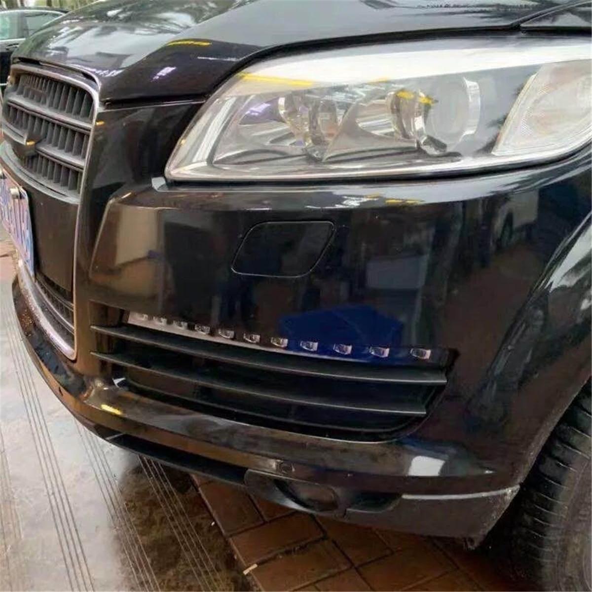 Clignotant LED de pare chocs avant pour Audi Q7 2006 2009 phare antibrouillard feux diurnes Drl clignotant accessoires de phares - 6