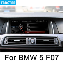 For BMW 5 Series F07 GT 2013~2017 NBT Car Android Radio GPS Multimedia player stereo HD ISP Screen Navigation Navi Media цена 2017