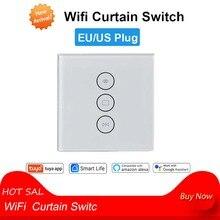 Smart Life WiFi рольставни занавес переключатель для электрических моторизованных жалюзи с дистанционным управлением Google Home Aelxa Echo EU/US