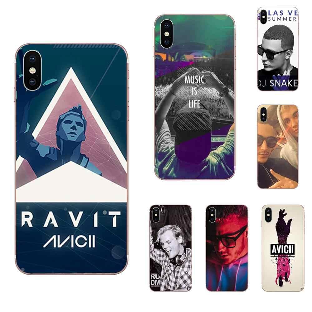 Lembut TPU Asli untuk LG G2 G3 G4 G5 G6 G7 K4 K7 K8 K10 K12 K40 Mini Plus Stylus thinq 2016 2017 2018 DJ Avicii Ular