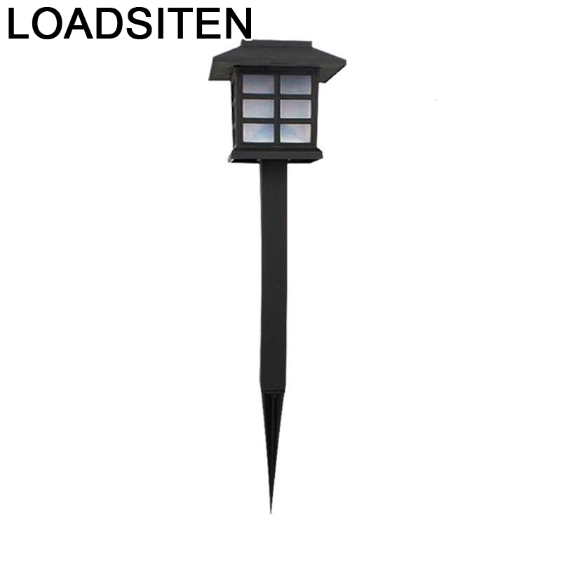 Tuinverlichting Tuinlamp 램프 <font><b>Luz</b></font> Tuin Verlichting Lampara Lumiere Exterieur De <font><b>Jardin</b></font> 조명 Led 야외 태양 정원 조명 image