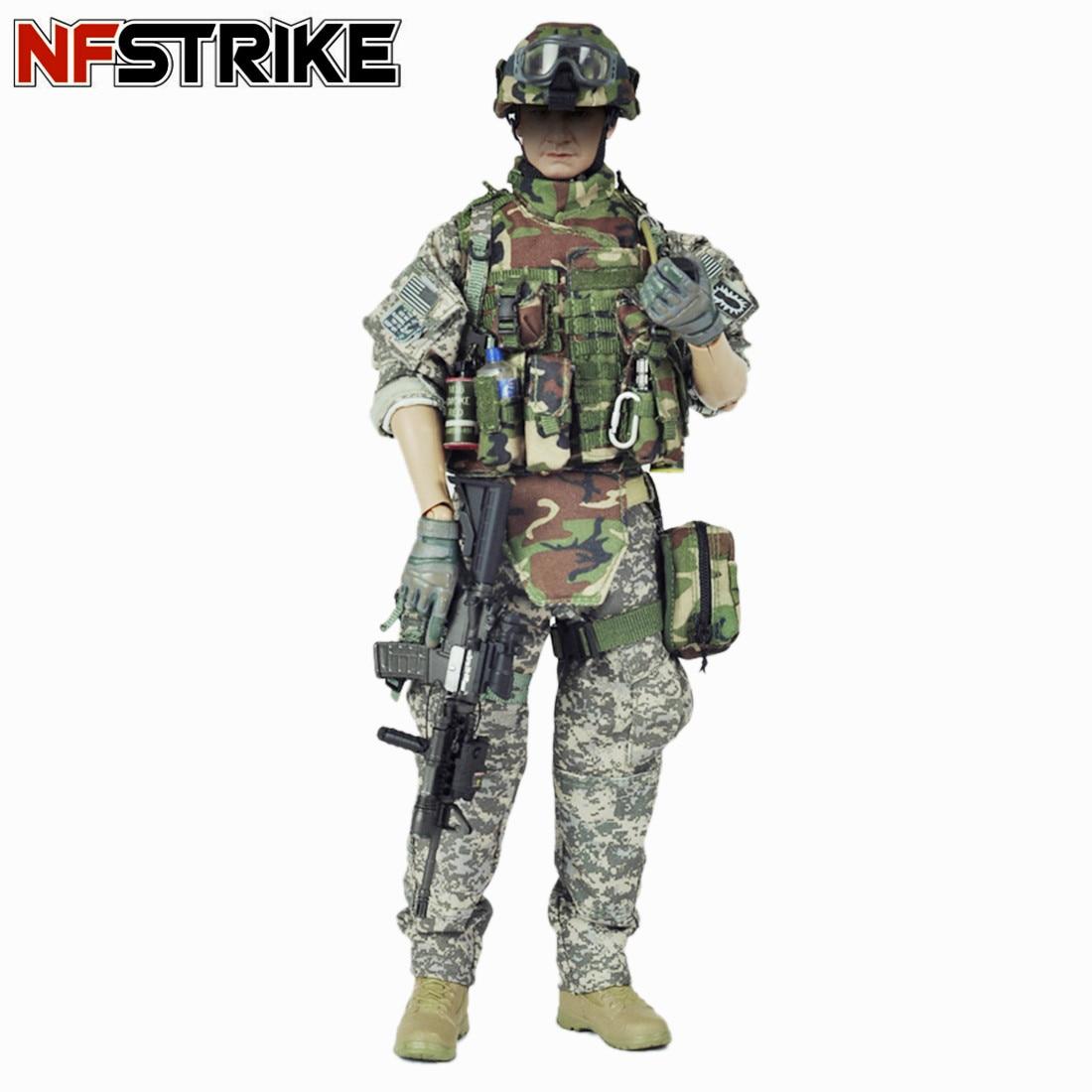 Veryhot 군인 모델 정장 미국 육군 eod 유니폼 장비 1/6 12 인치 군인 모델 액션 피규어 장난감 2019 새로운 도착-에서액션 & 장난감 숫자부터 완구 & 취미 의  그룹 1