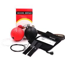 with Headband Boxing Reaction Ball Gym Trainer Accessories Durable Punching Body Building Elastic Training Reflex