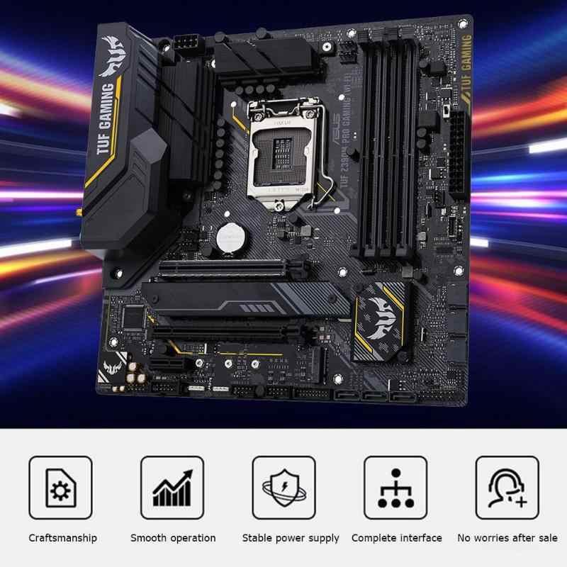 ASUS TUF Z390M-PRO الألعاب سطح اللوحة Wifi Z390 المقبس LGA 1151 مايكرو ATX الكمبيوتر PC اللوحة