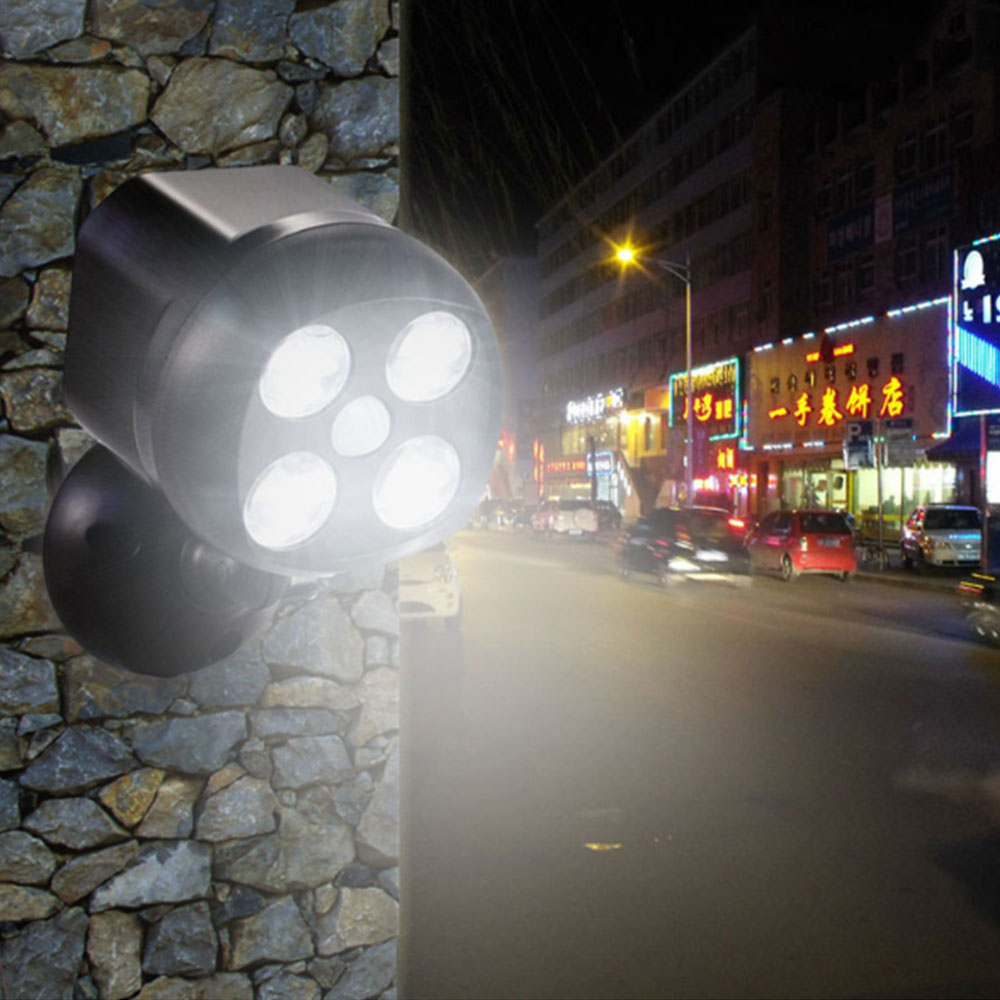Outdoor Lighting Motion Sensor LED Light IP65 Waterproof Outdoor Lights Battery Operated Security Lights Wall Garden Driveway