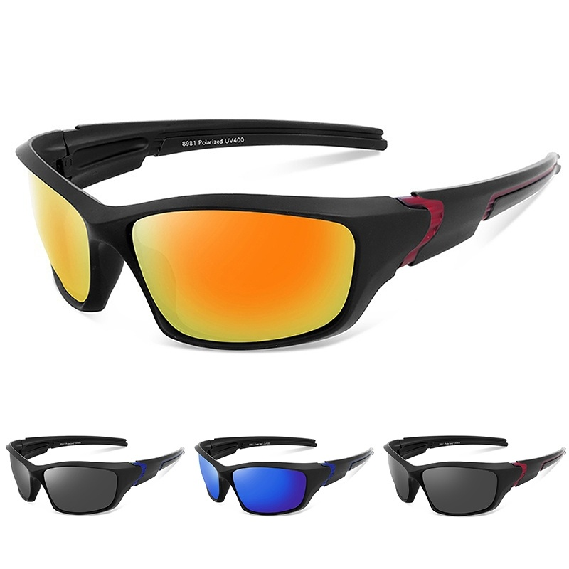Mens Womens Polarized Fashion Large Frame Self-Driving Fishing Casual Sunglasses