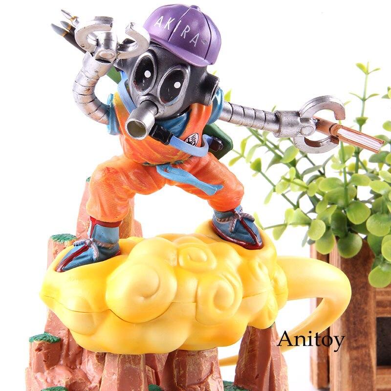 Anime Dragon Ball Super Figure Son Goku Cloud Ver. GK Statue Dragon Ball Action Figure Goku PVC Collectible Model Toy