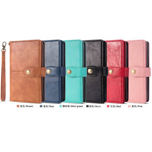 Image 5 - Multifunction Wallet Etui for Samsung Note 20 Ultra Case S 20 S10 S10e S9 S8 S20 Plus Flip for Samsung Galaxy Note 10 Case Coque