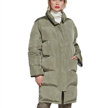 Winter Coat Women 2019 New Hooded Thick Plus Size Female Korean Version of Long Sleeve Collection