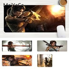 MaiYaCa In Stocked Tomb Raider 2012 Game High Speed New Mousepad Large Lockedge Mouse pad PC Computer mat Gaming Mouse Pad