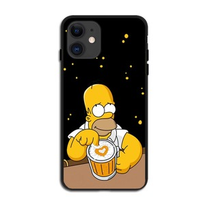 Image 4 - Fashion Luxury Simpson black Soft Silicone TPU Cover Phone Cases for iPhone 11 Pro MAX SE 2020 5S 6SPlus 7 8 Plus X10 XR XS MAX