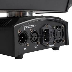 Image 4 - משלוח מהיר מיני LED קרן עכביש 8x10W RGBW הזזת ראש תאורת LED שלב אור טוב למסיבות DJ דיסקו חתונה קישוט