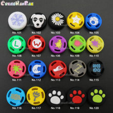 1pc From No.96-114 Cute Cartoon Silicone Joy con caps 3D Analog Thumb Grips Cover For Nintendo Switch Controller