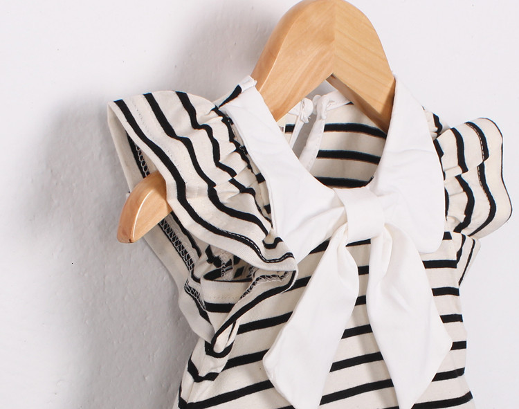 H3badc518f9f5464e91145c1bbffe8cdbl Girls Dress 2018 Summer Explosion Solid Color Denim Dress Cartoon Polka Dot Bow Cartoon Bunny Satchel Korean Baby Cute Dress