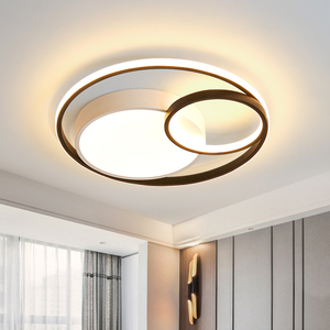 Modern Led Ceiling Chandelier Lights For Living room Bedroom Dining Study Room Luminaires Lamp Home Circle Lighting Fixtures