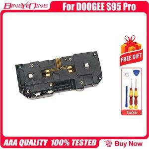 Image 2 - 100% جديد الأصلي صندوق مكبر صوت بصوت عال الطنان قارع الأجراس القرن ل Doogee S95 برو إصلاح استبدال الملحقات أجزاء