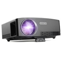 OCDAY Full HD 1080P LCD Mini Projector 1800 LM Portable Multimedia Home Cinema Theater Video Movie Entertainment UK Plug