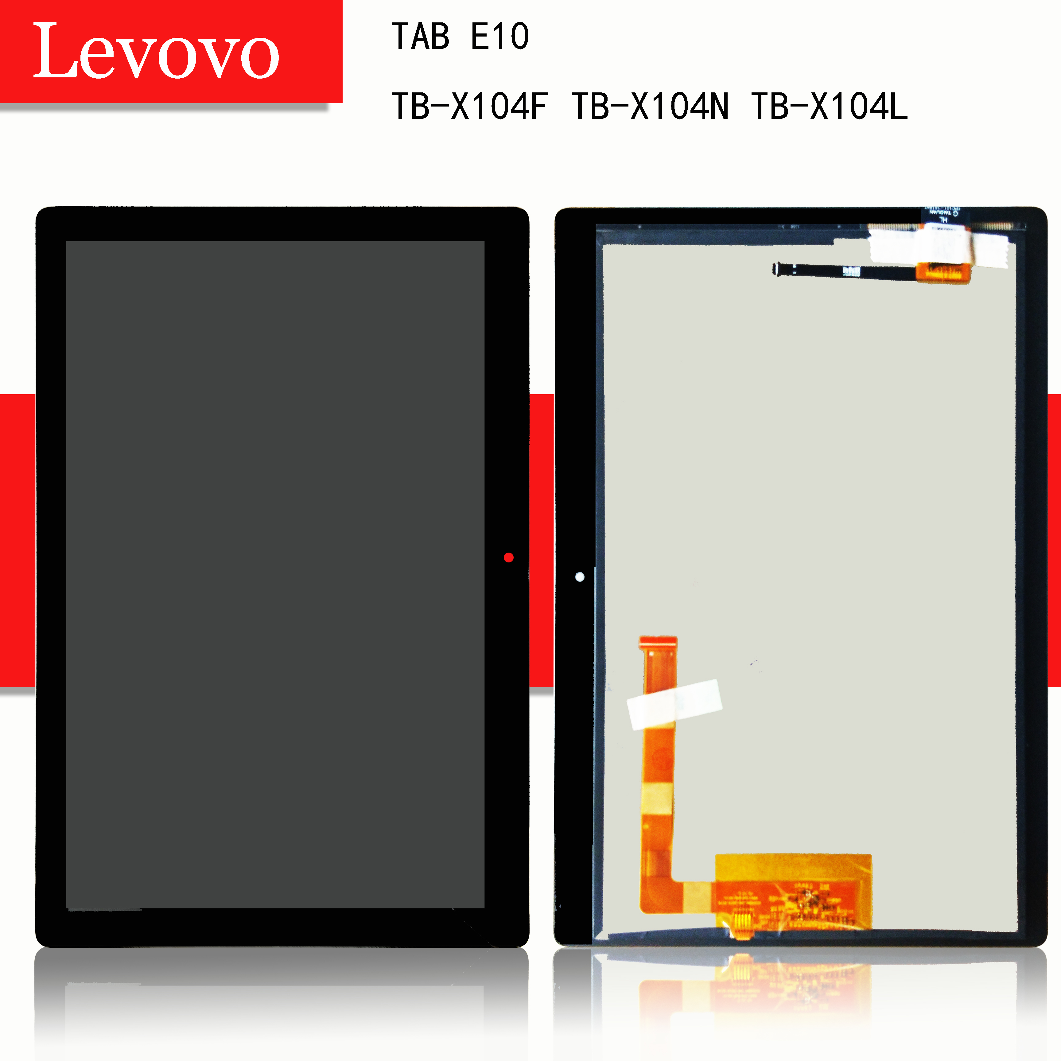 """10.1"""" For Lenovo TAB E10 E 10 TB-X104F TB-X104N TB-X104L TB X104 Touch Screen Digitizer Lcd Display Assembly"""