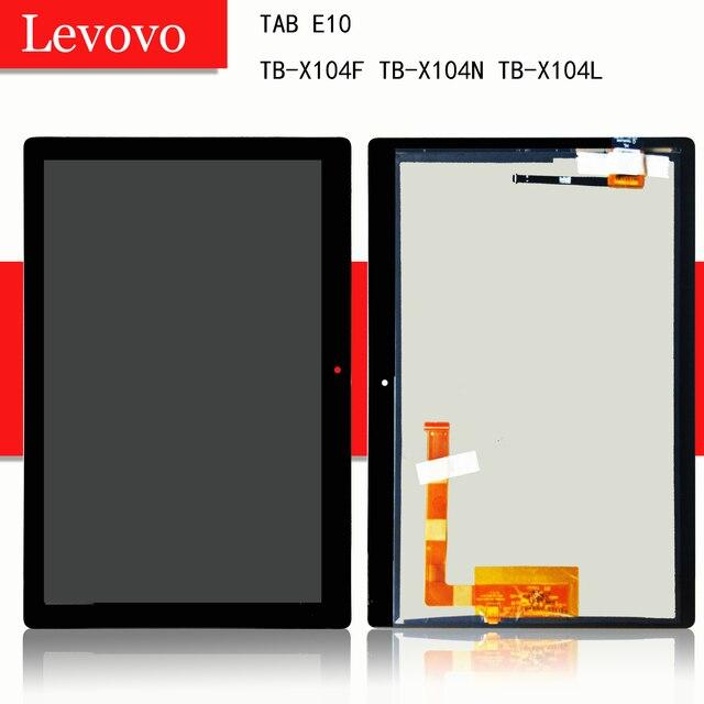 """10.1 """"용 Lenovo TAB E10 E 10 테라바이트 X104F TB X104N TB X104L TB X104 터치 스크린 디지타이저 Lcd 디스플레이 어셈블리"""