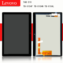 """10.1 """"per il Lenovo TAB E10 E 10 TB X104F TB X104N TB X104L TB X104 Touch Screen Digitizer Display Lcd montaggio"""