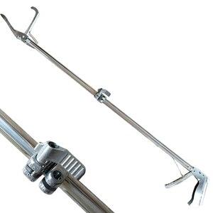 Image 2 - 120CM plegable reptil serpiente pinzas palo Grabber plegable Catcher de la herramienta de productos de Control de plagas