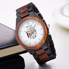 Shifenmei Wooden Watches Mens Quartz Wristwatch Top Luxury Brand Wood