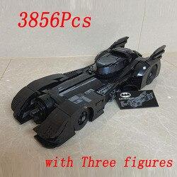 Presell 76139 Batman Super Hero 1989 Batmobil Modell 3856Pcs Gebäude Kits Blöcke Ziegel Spielzeug Kinder Geschenk Kompatibel 59005