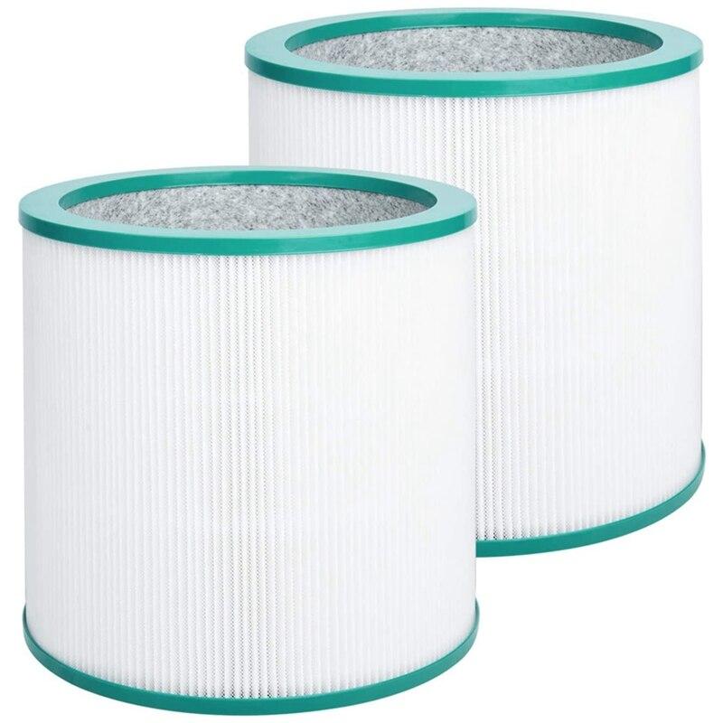 2 упаковки HEPA воздушный фильтр для Dyson TP00 TP02 TP03 AM11 башня очиститель Чистая модная прохладная ссылка заменить часть 968126-03