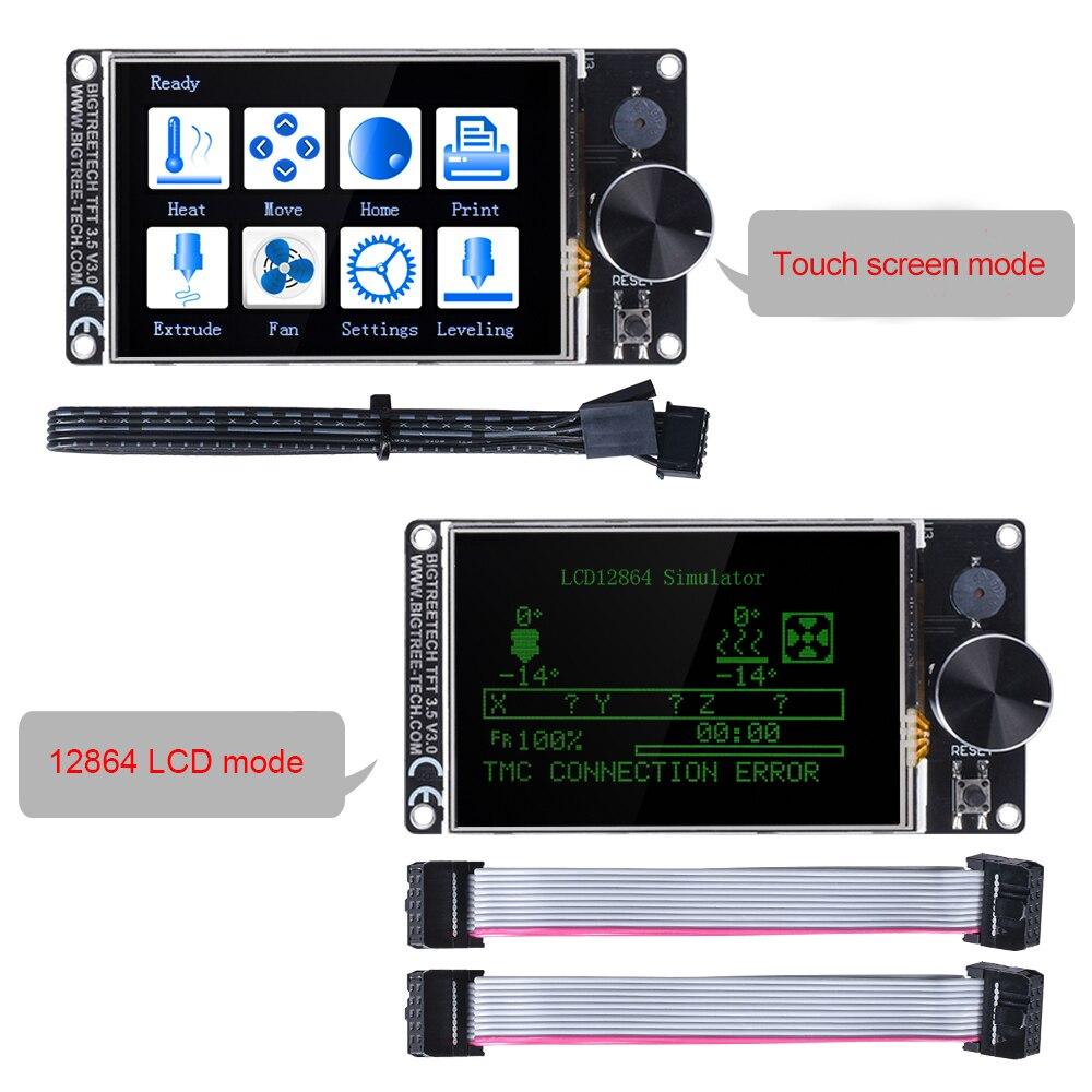 BIGTREETECH SKR V1.4 Turbo BTT SKR V1.4 carte 32 bits TFT35 V3.0 pièces d'imprimante 3D TMC2130 TMC2209 TMC2208 UART Wifi vs MKS GEN L - 3