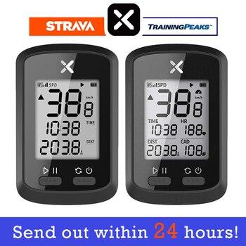 цена на XOSS Bike Computer G plus Wireless GPS Speedometer Waterproof Road Bike MTB Bicycle Bluetooth ANT+ with Cadence Cycling Computer