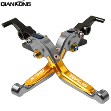 FOR SUZUKI SV650S 1999 2000 2001 2002 2003 2004 2005 2006 2007 2008-2012 Motorcycle CNC Adjustable Brake Clutch Levers handle цена и фото