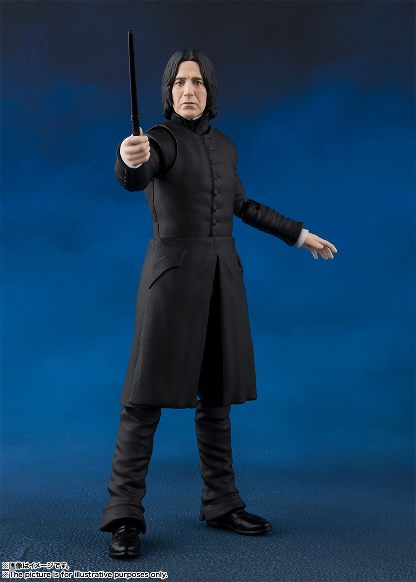 15cm SHF Harry Professor Severus Snape Action Figure Collectible For Kids  Gift