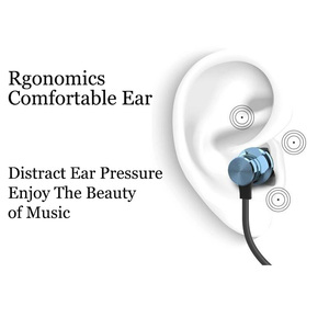 Image 3 - Magnetic Music Bluetooth Earphone Sport Running Wireless Bluetooth Headset with Microphone for IPhone Android All Smart Phone