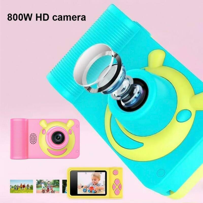 PUDCOCO Mini Kids Digital HD Camera 2.0 Inch LCD Camcorder Child Girl Boy Birthday Gift