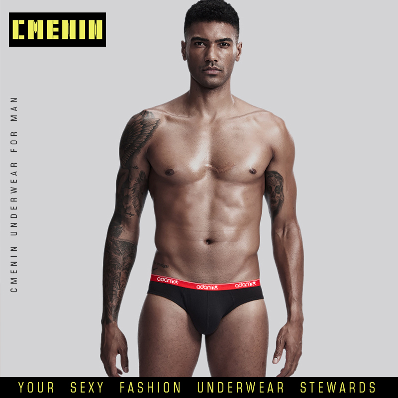 2020 New Arrival CMENIN Sexy Slip Man Cotton Briefs Sexy Underwear Men Jockstrap Briefs Men Bikini Gay Men Underwear Male AD41