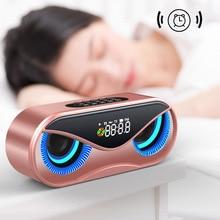 Owl Bluetooth Speaker Double Alarm Clock Mini Stereo LHB99