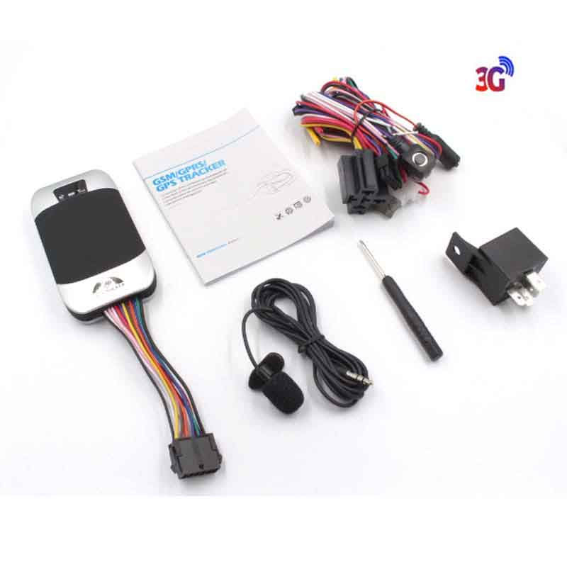 Coban GPS303F Vehicle tracker in Real time with GPS Tracking