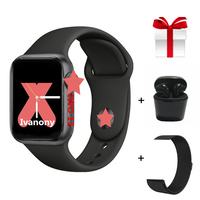 IWO 12 Series 5 1:1 Smartwatch+Strap+Earphone/Set IWO12 40mm 44mm Women Smart Watch for apple iPhone Android phone Control Siri