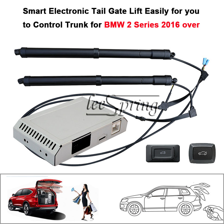 Car Electric Tail Gate Lift Special For BMW 2 Series F45 2016 Over With Suction Easily For You To Control Trunk
