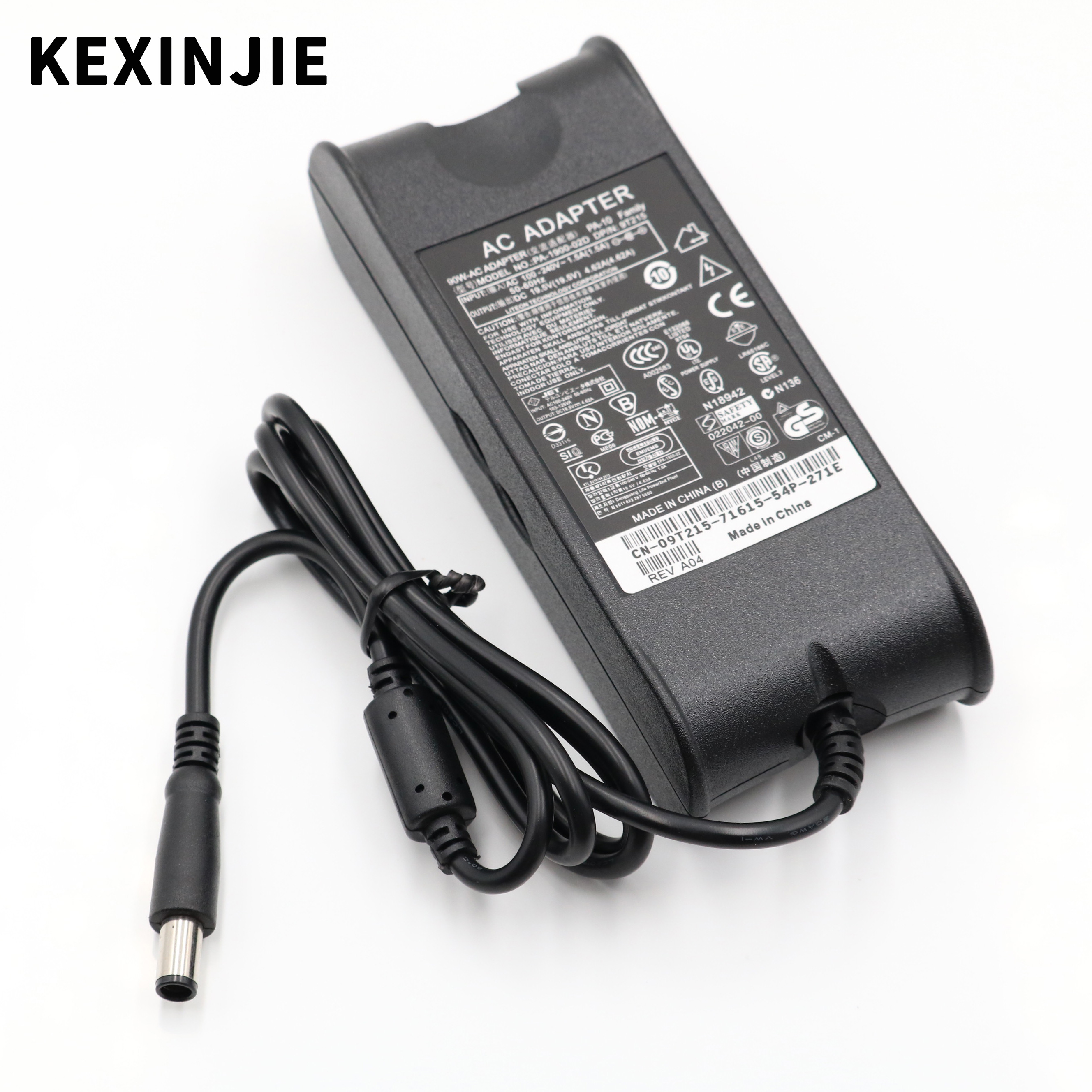 19.5V 4.62A DC 7.4*5mm AC Adapter For Dell Inspiron PA-10 1545 N4010 N4030 N4050 1400 D610 D620 D630 1420 D800 E6400 19.5V4.62A
