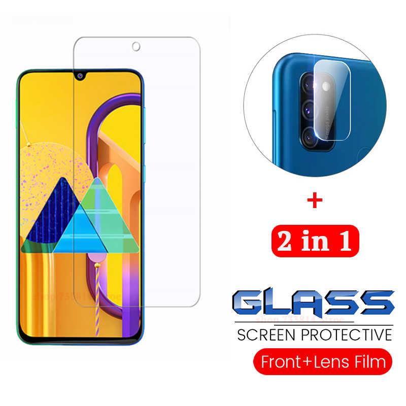 2-in-1 2.5D מסך מגן + מצלמה זכוכית עבור samsung M30s מזג זכוכית עדשת סרט על Galaxy m30s מגן Class SM-M307F