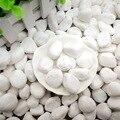 500g белый с натуральной галькой для Аквариум Украшение камнями маленький горшок растение для домашнего сада Украшение рыбьей резервуар, ваз...